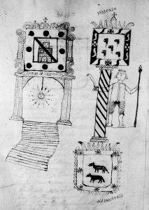 Armas de Castrillo, Moscoso y Henestrosa.