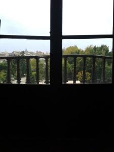"""Vista de Toledo desde """"el puesto de investigación"""". Hospital Tavera, noviembre de 2013."""