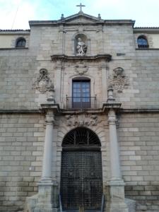 Portada del Hospital Tavera, Toledo, noviembre de 2013.