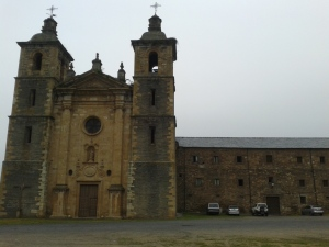 Monasterio de San Andrés, Vega de Espinareda, Abril de 2015.