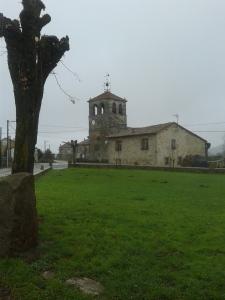 Vista de la Iglesia Parroquia de Santa Gadea del Alfoz, 27 de noviembre de 2015.